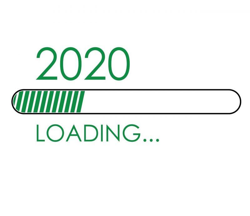 buona fine dell'anno 2020